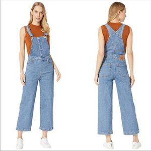 Levi's | Mile High Wide Leg Cropped Overalls | 34